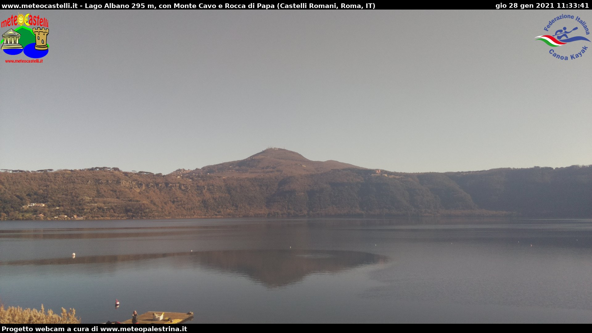 Webcam Lago Albano